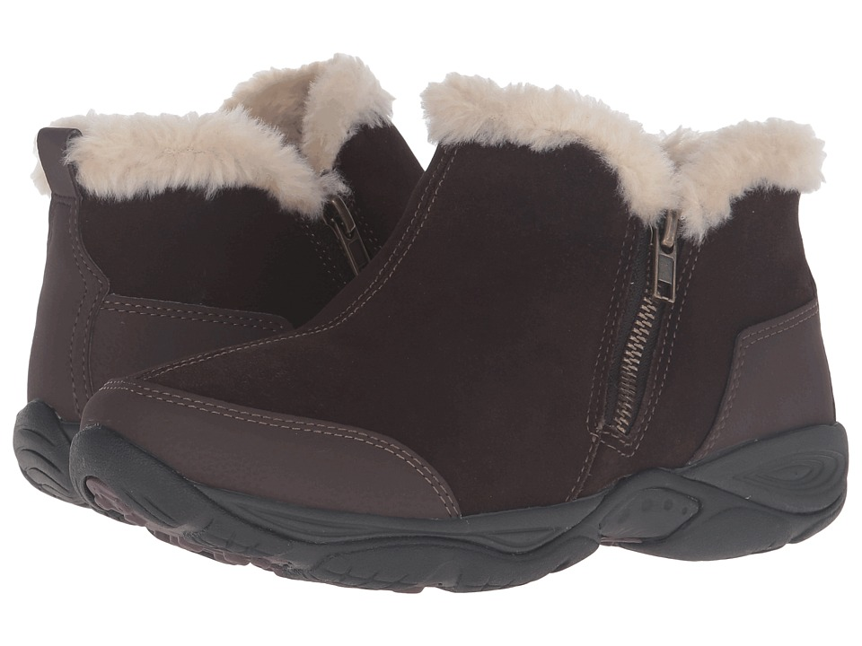 Easy Spirit - Excellite (Dark Brown Multi Suede) Women