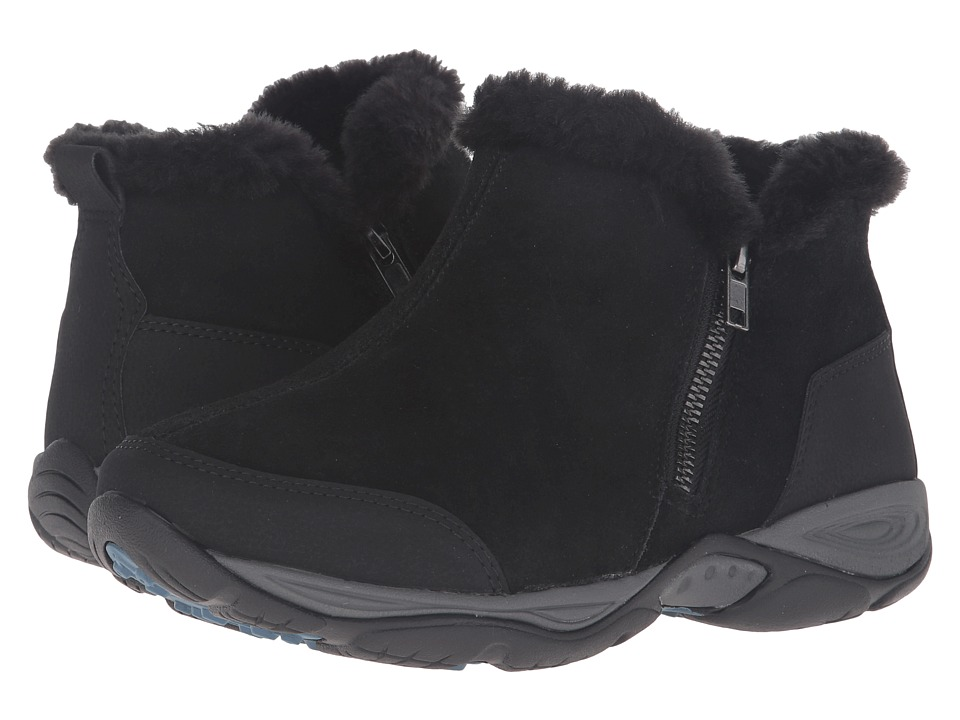 Easy Spirit - Excellite (Black Multi Suede) Women's Shoes