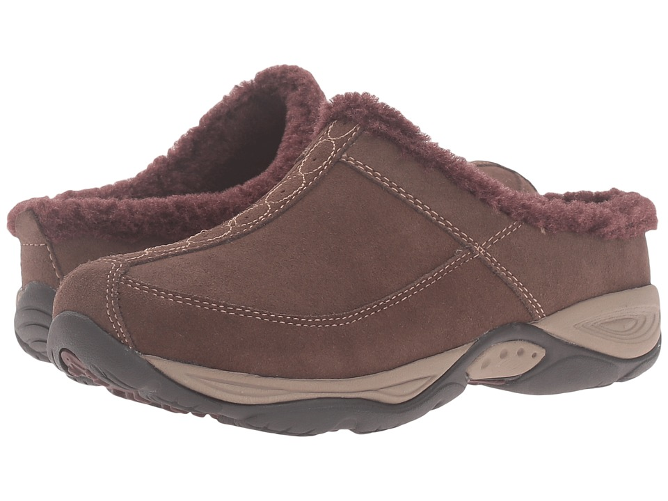 Easy Spirit - Exchange (Medium Brown/Dark Purple Suede) Women
