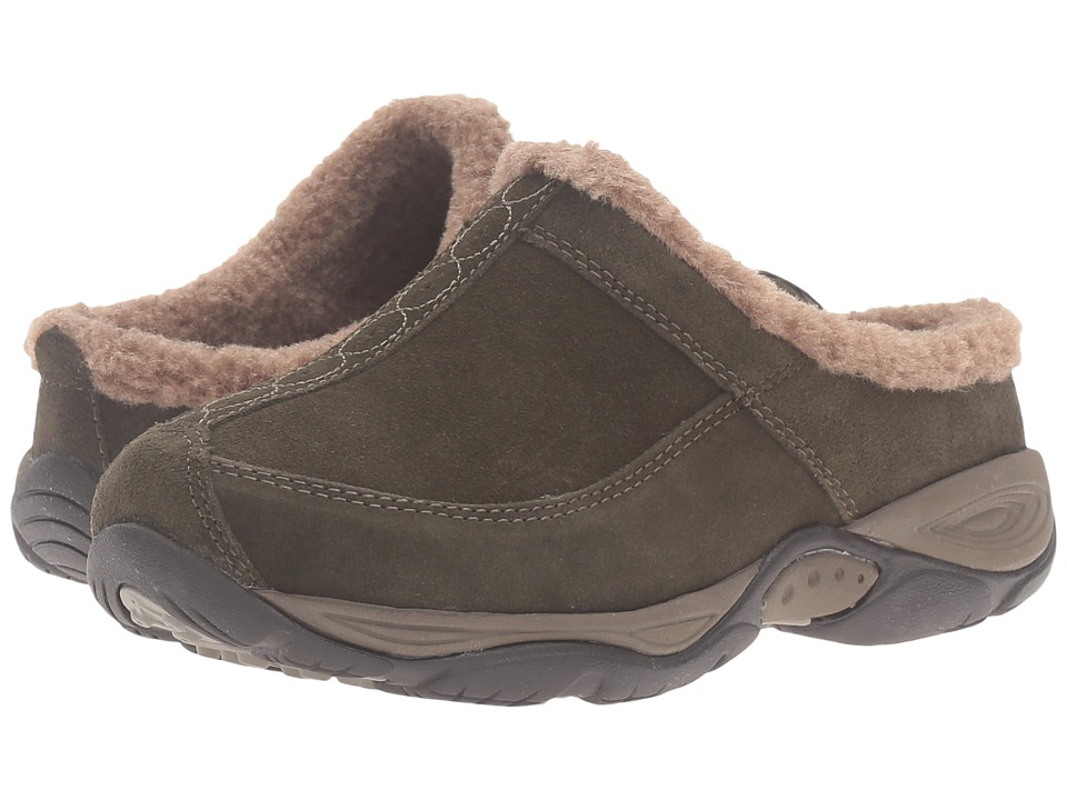 Easy Spirit - Exchange (Dark Green/Dark Taupe Suede) Women
