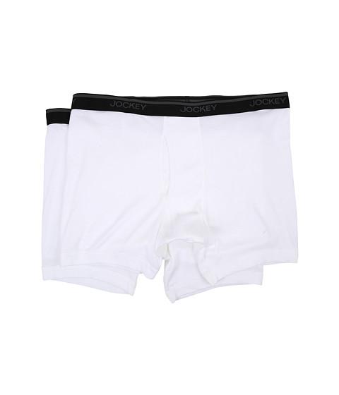 Jockey Big Man Staycool Midway Brief 2-Pack - White