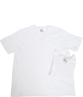 Jockey - Big Man Cotton V-Neck 2-Pack