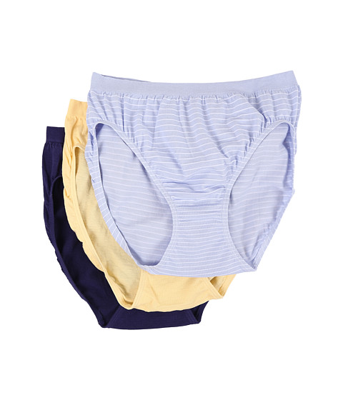 Jockey Comfies® Cotton French Cut 3-Pack at 6pm.com