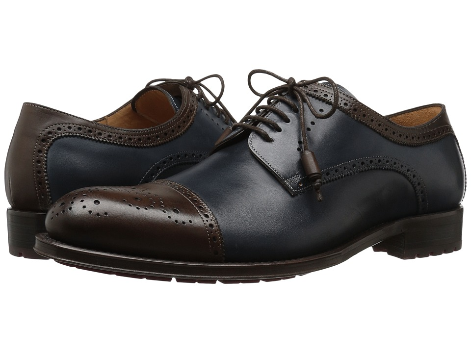 Mezlan - Carlino (Brown/Blue) Mens Shoes
