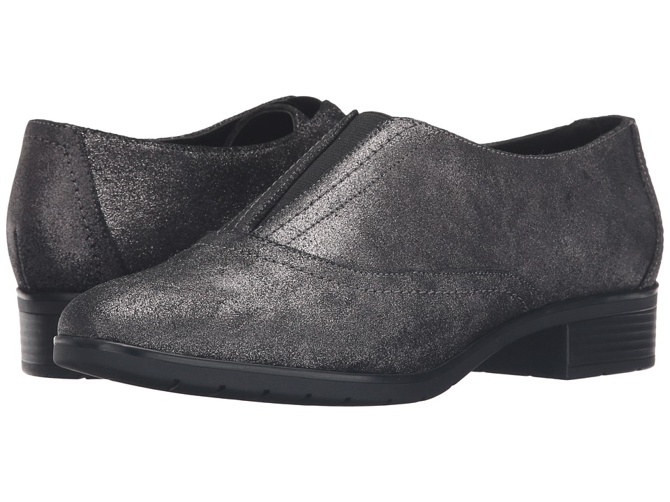 Easy Spirit - Neota (Pewter/Black Suede) Women