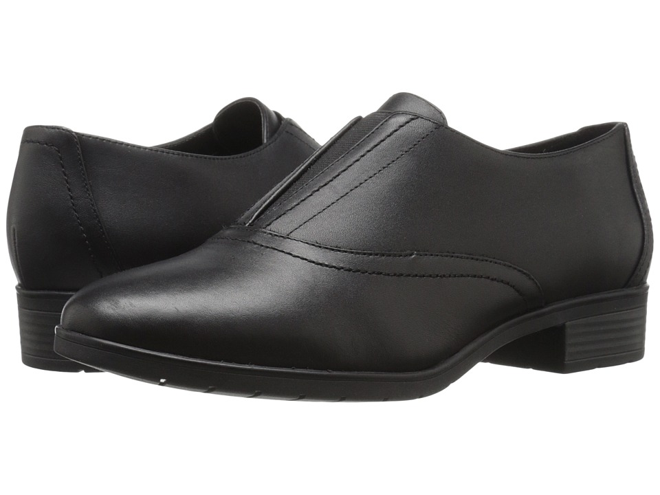 Easy Spirit - Neota (Black/Black Leather) Women