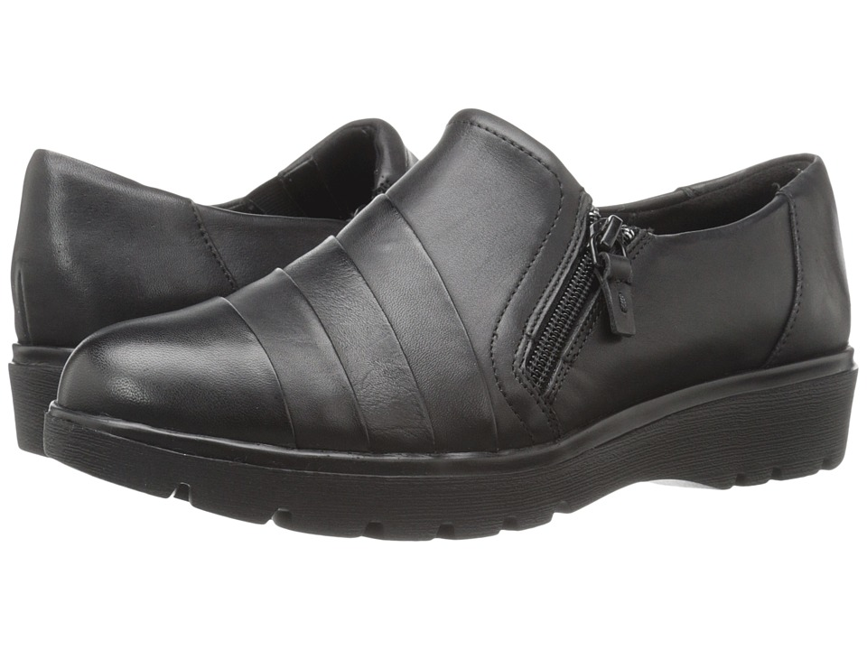 Easy Spirit - Oakhill (Black Leather) Women