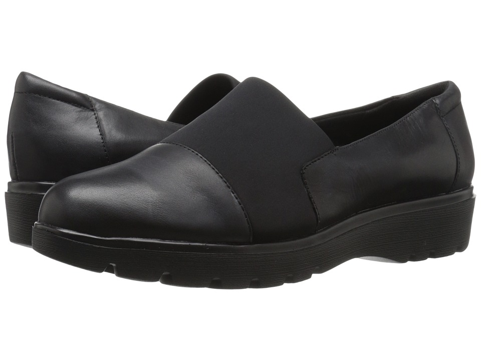 Easy Spirit - Oreen (Black/Black Leather) Women