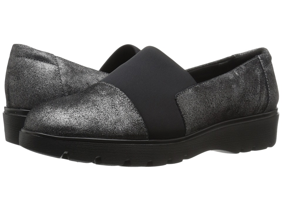 Easy Spirit - Oreen (Pewter/Black Suede) Women
