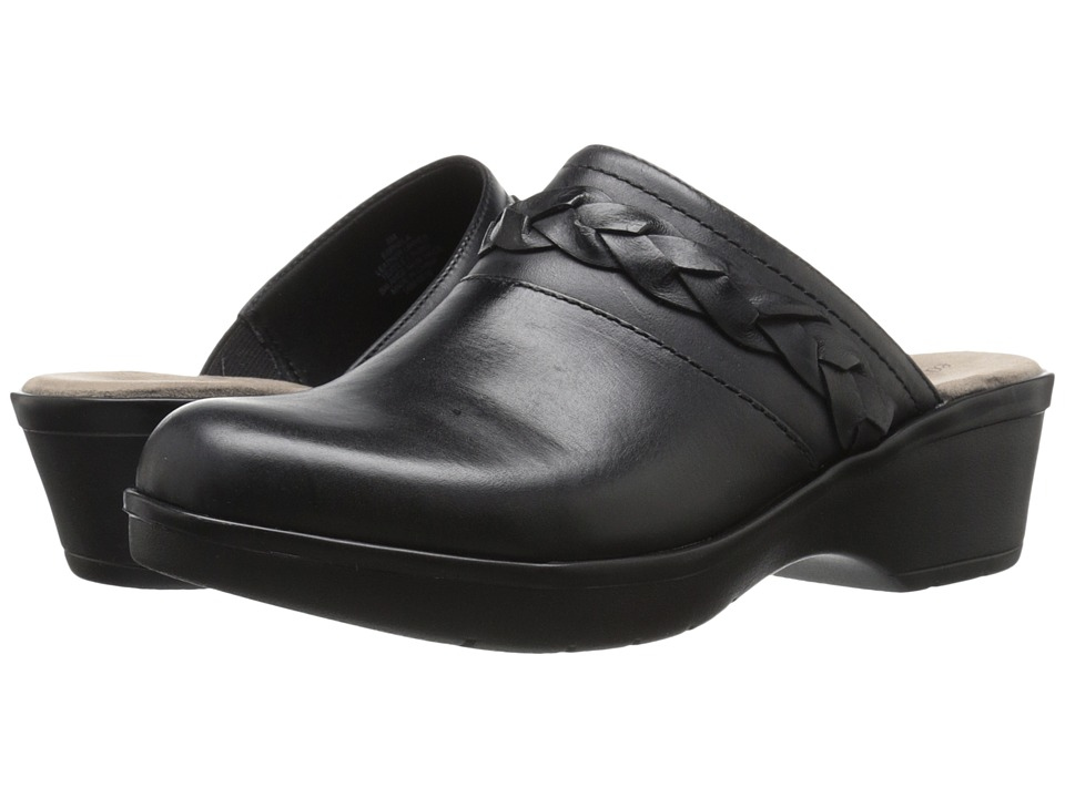 Easy Spirit - Pabla (Black Leather) Women