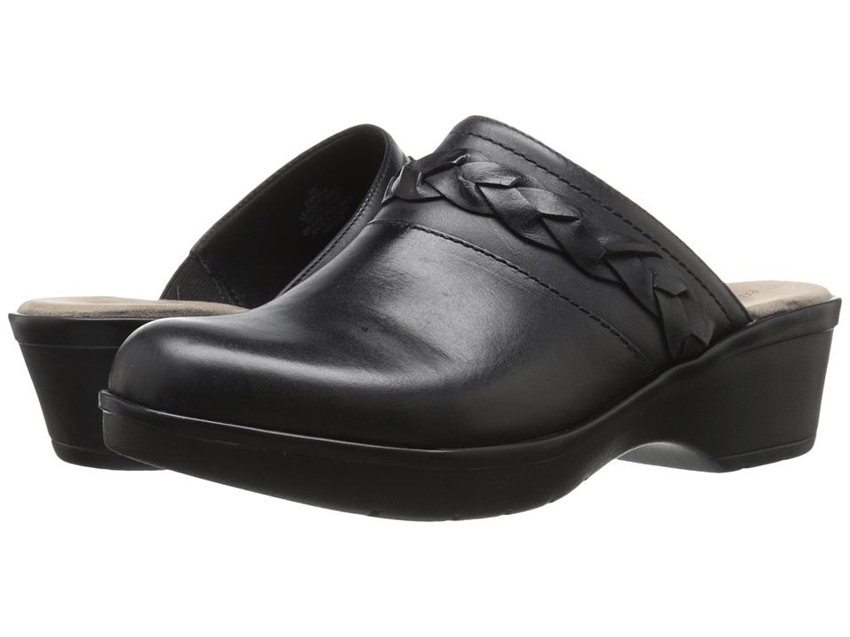Easy Spirit - Pabla (Black Leather) Women