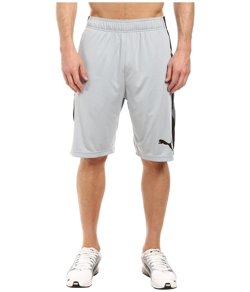 PUMA Tilted Formstripe Shorts (Quarry/Puma Black) Men
