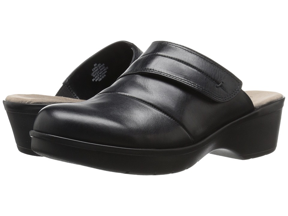 Easy Spirit - Pallen (Black Leather) Women