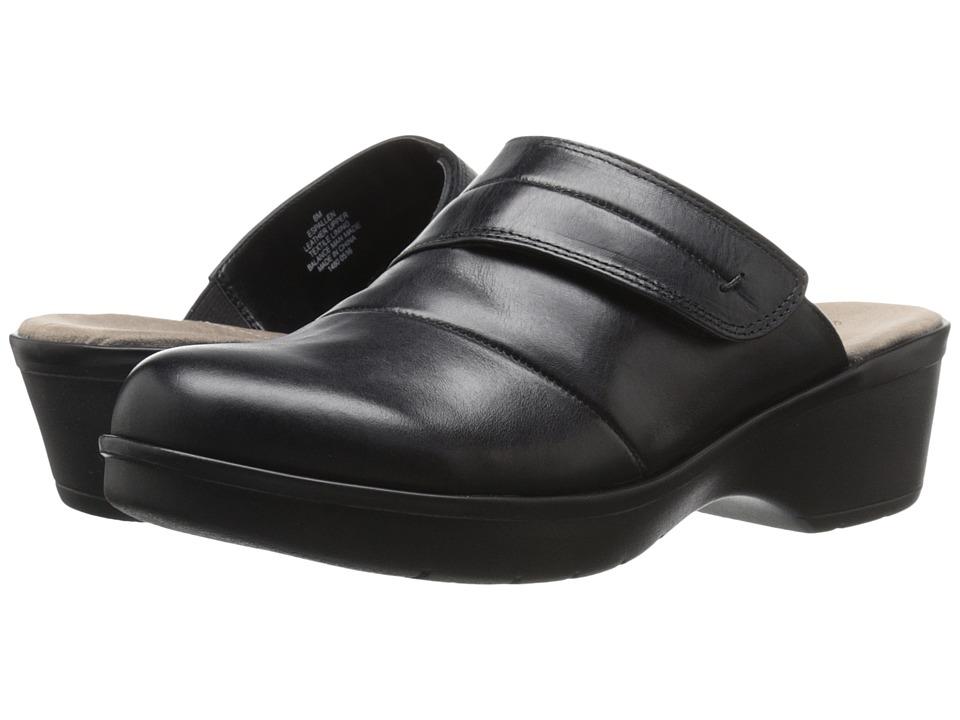Easy Spirit - Pallen (Black Leather) Women