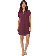 Allen Allen - High-Low Shirtdress