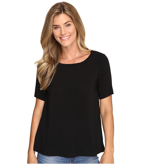 Allen Allen 1/2 Sleeve High-Low Crew