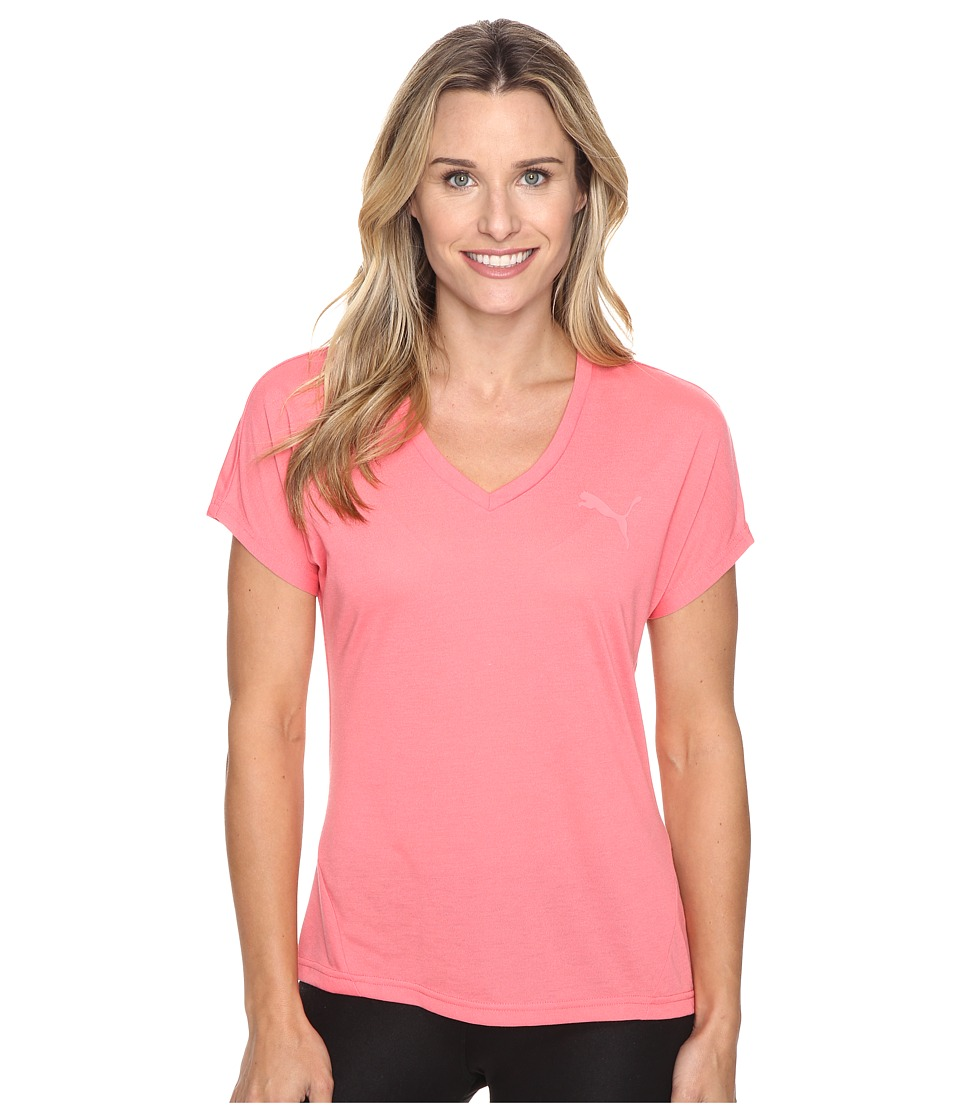 PUMA Elevated Sporty Tee (Sunkist Coral) Women