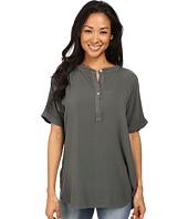 Allen Allen - Tab Collar Henley Shirt