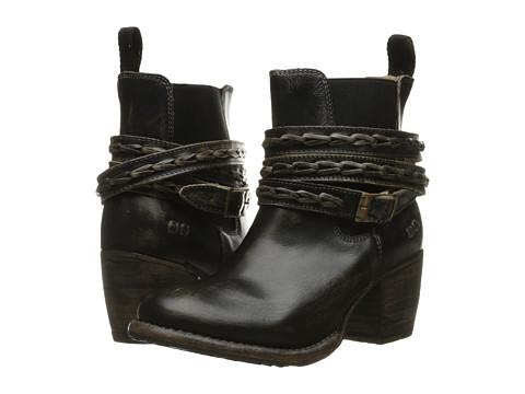 Bed Stu Lorn - Black Handwash Leather