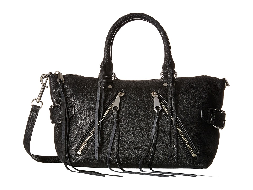 Rebecca Minkoff - Moto Satchel Tote (Black) Tote Handbags