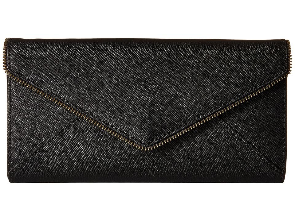 Rebecca Minkoff - Cleo Wallet on a Chain (Black 1) Wallet Handbags
