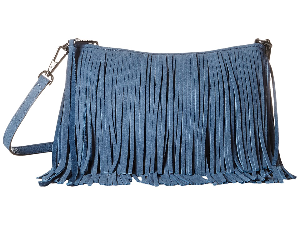 Rebecca Minkoff - Finn Crossbody (Dusty Blue) Cross Body Handbags