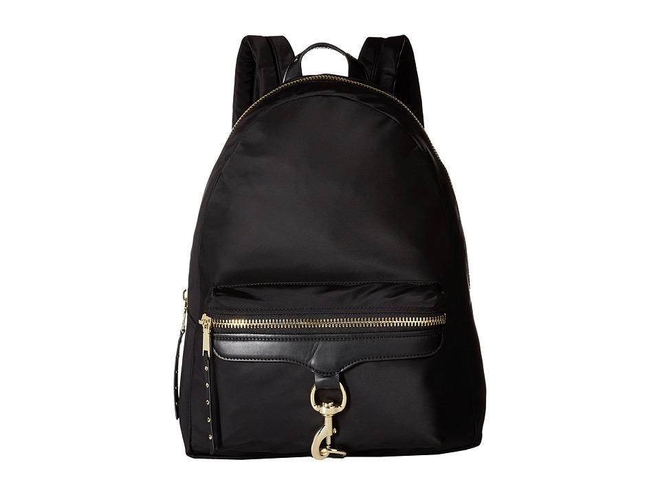 Rebecca Minkoff - Tech To Go Mab Backpack (Black) Backpack Bags
