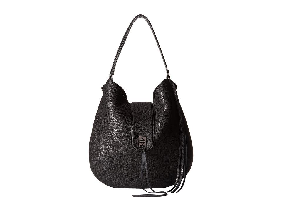 Rebecca Minkoff - Darren Hobo (Black) Hobo Handbags