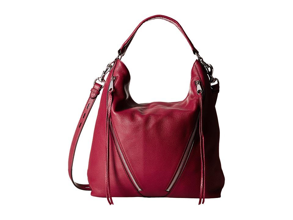 Rebecca Minkoff - Moto Hobo (Tawny Port) Hobo Handbags