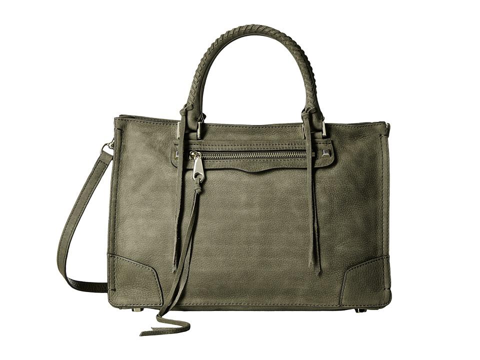 Rebecca Minkoff - Regan Satchel Tote (Olive) Tote Handbags