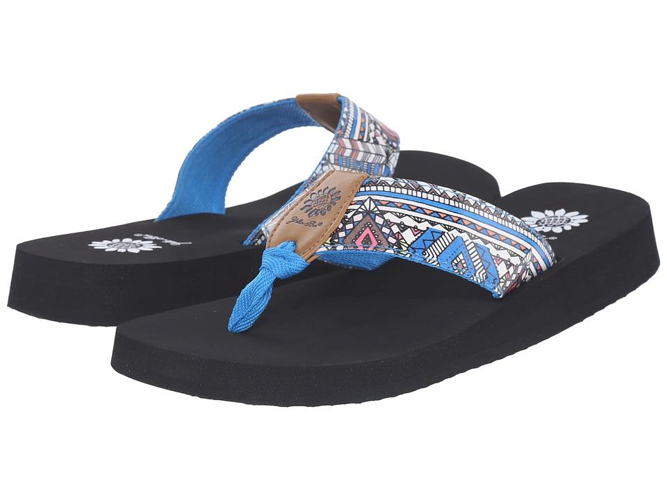 Yellow Box Yupita Blue Womens Sandals