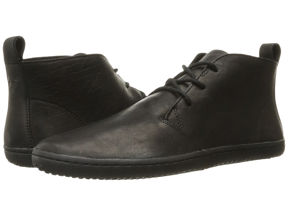 Vivobarefoot Gobi II M Leather Black/Hyde Mens Shoes