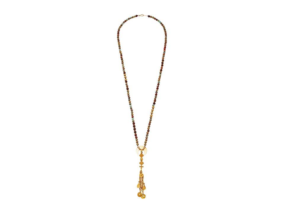 Chan Luu - 34' Aqua Terra Tassle Necklace (Aqua Terra) Necklace