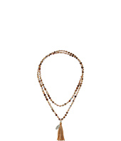 Chan Luu - 42' Botswana Agate Mix Necklace with Tassle