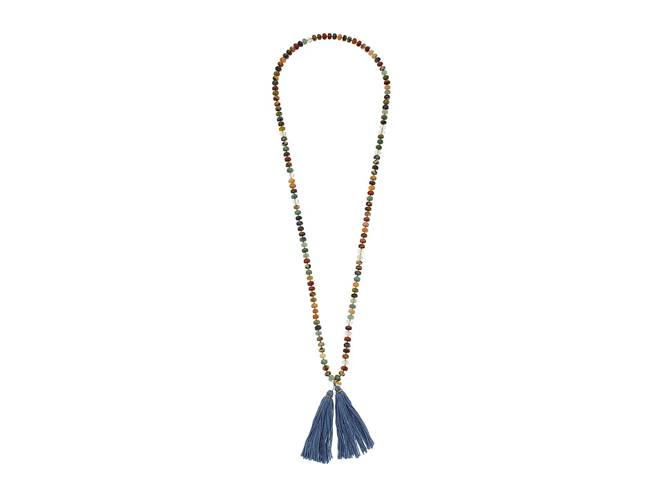 Chan Luu - 36' Multi Strand Necklace with Tassle