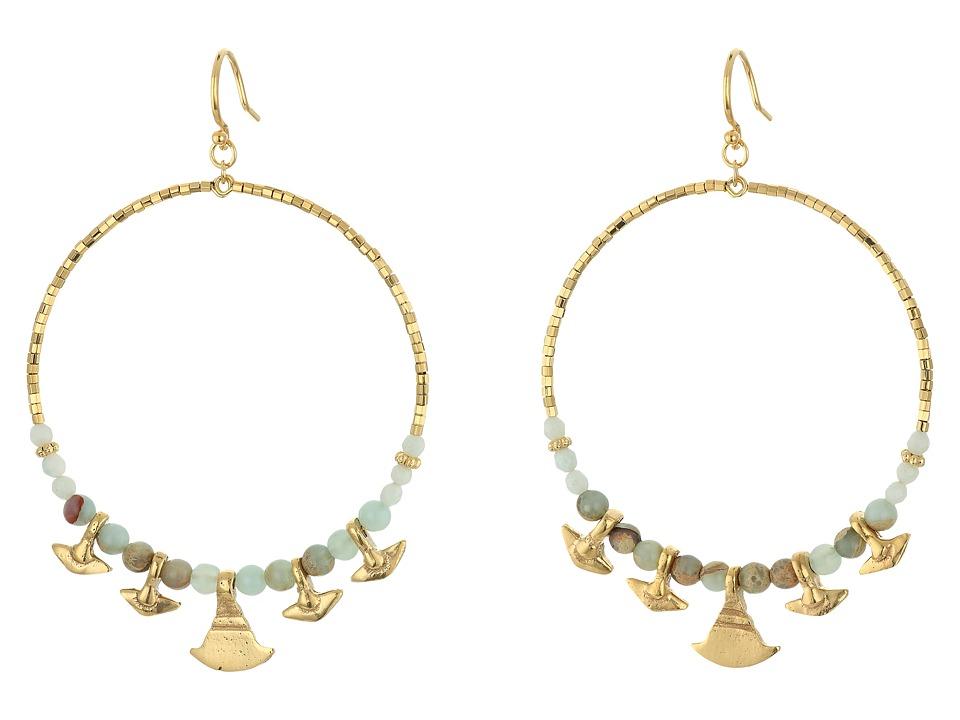 Chan Luu Aqua Terra Hoop Earrings Aqua Terra Earring