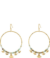 Chan Luu - Aqua Terra Hoop Earrings