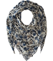 Chan Luu - Floral Printed Cashmere Scarf