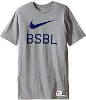 Nike Kids - Baseball Logo Short Sleeve Training T-Shirt (Little Kids/Big Kids)