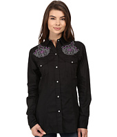 Roper - 0736 Solid Poplin Fancy Shirt