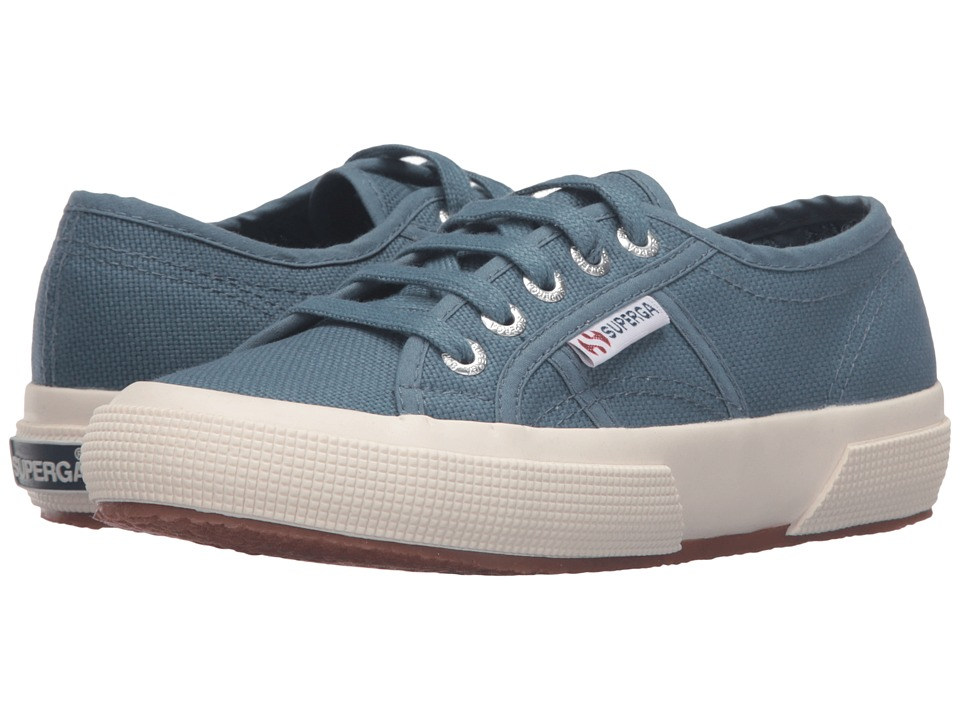 Superga - 2750 COTU Classic (Slate Blue) Lace up casual Shoes