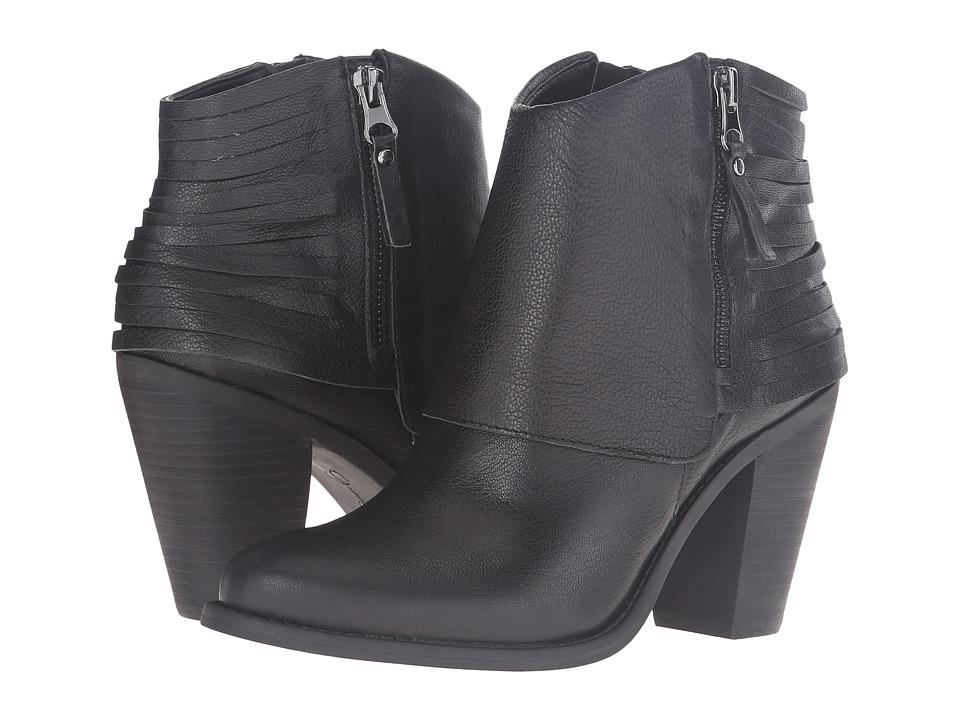 Jessica Simpson - Cerrina (Black Waxy Goat Leather) Women