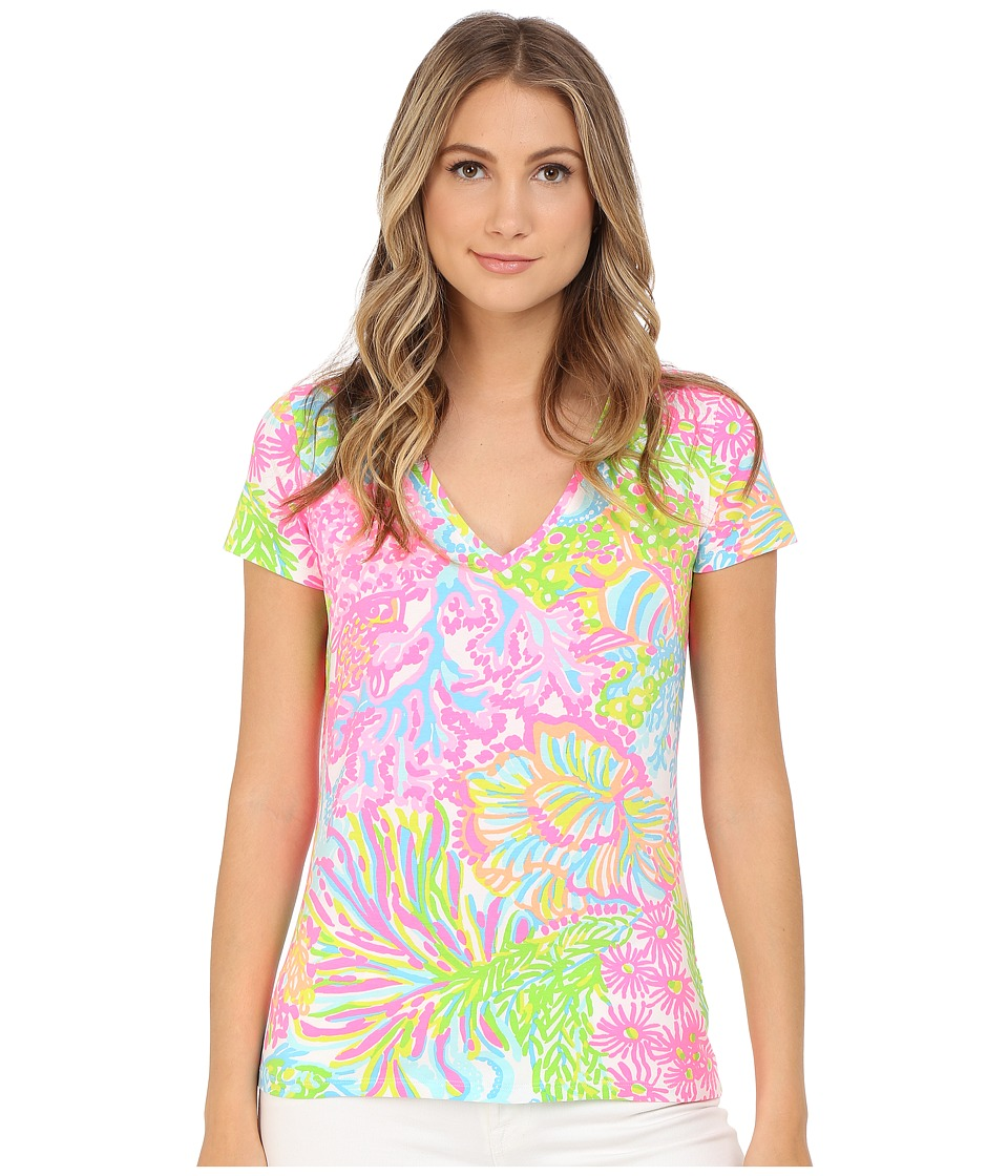 Lilly Pulitzer - Michele Top (Multi More Lovers Coral) Women