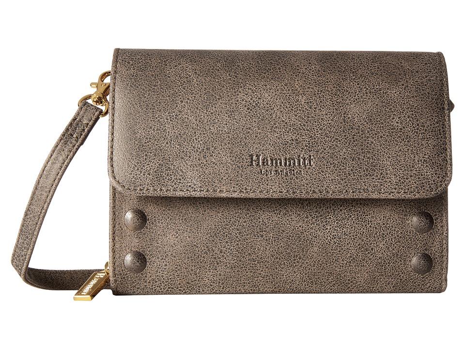 Hammitt - Lucas Embossed (Pewter/Gold) Handbags