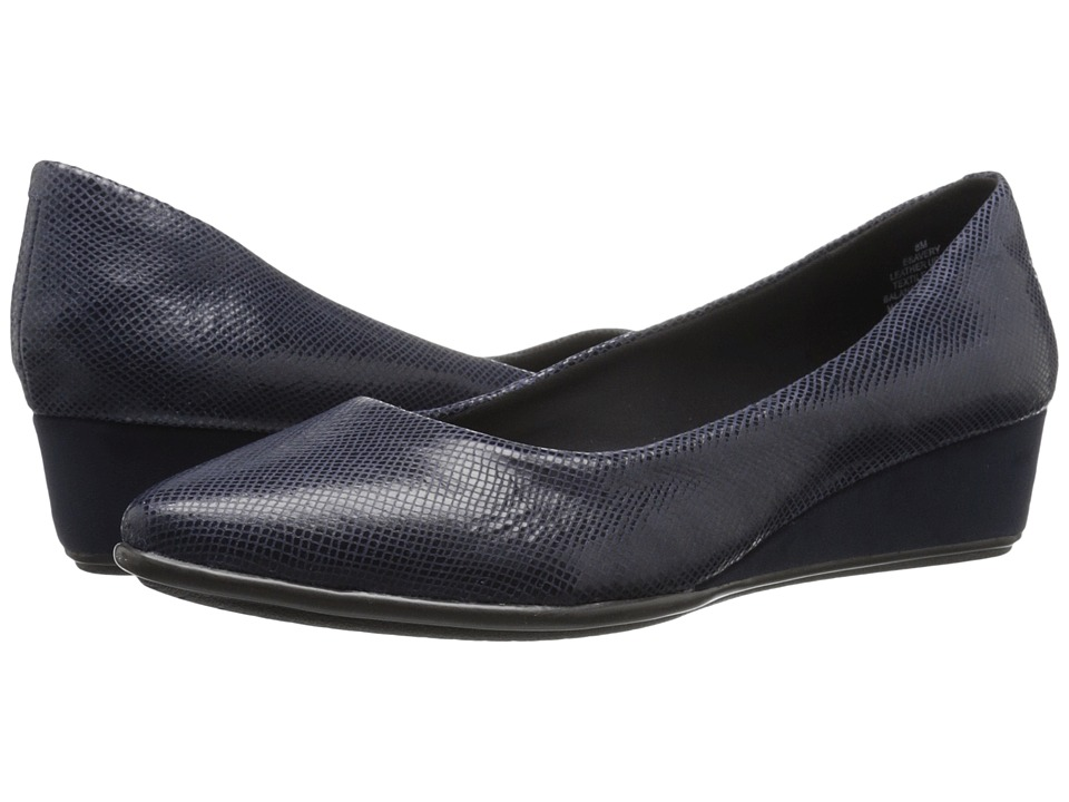 Easy Spirit - Avery (Navy Reptile) Women