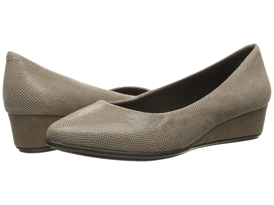 Easy Spirit - Avery (Taupe Reptile) Women