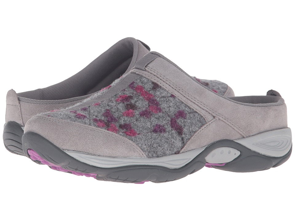 Easy Spirit - EZ Time (Light Grey/Light Grey Suede) Women