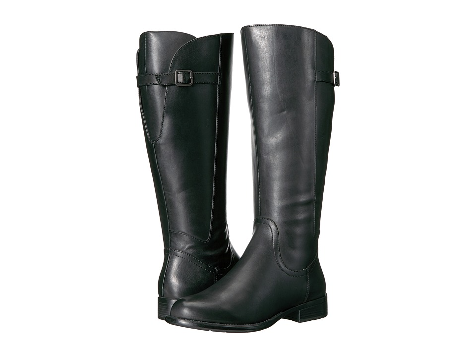 Easy Spirit - JimletW (Black Wide Leather) Women