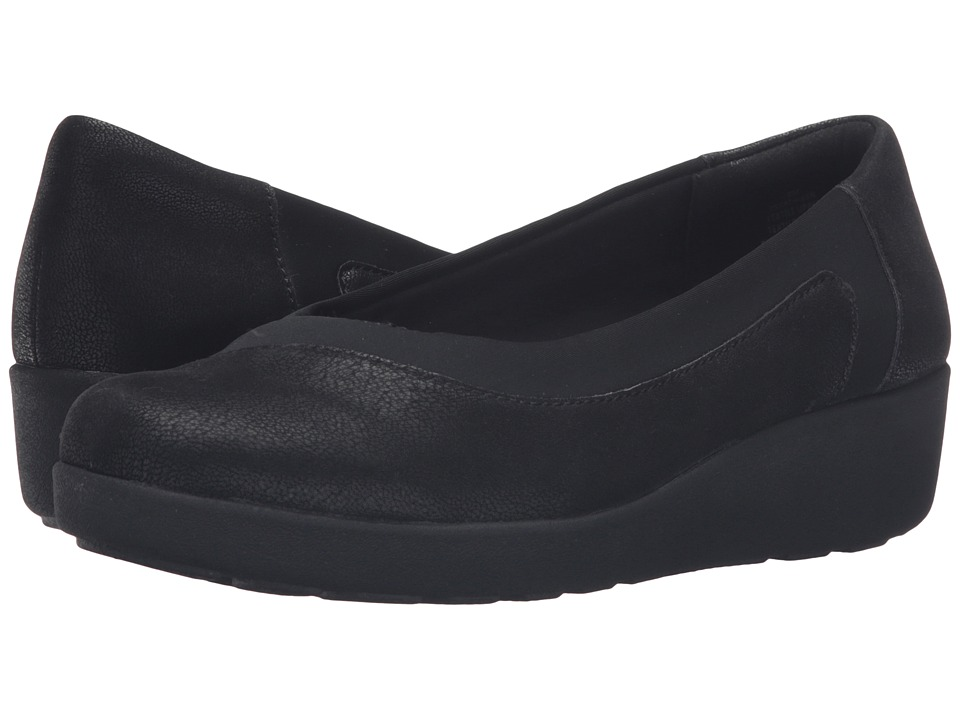 Easy Spirit - Kathleen (Black/Black Fabric) Women