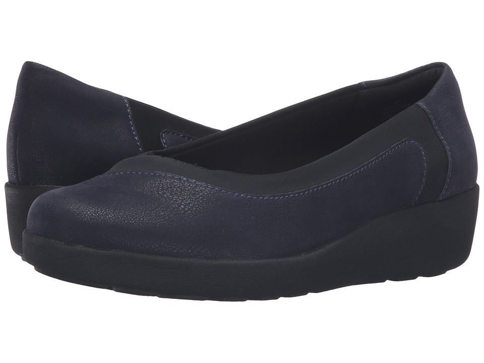 Easy Spirit - Kathleen (Navy/Black Fabric) Women